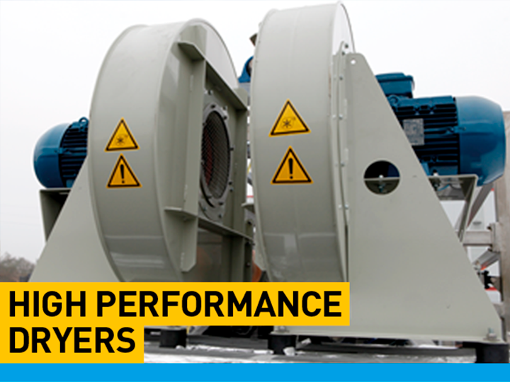 tent washing machine - High performance dryers