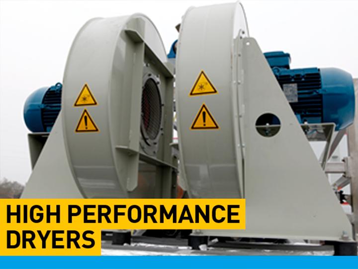 tent washing machine - High performance dryers